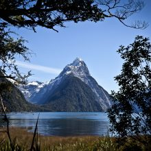 Mitre Peak in Milford Sound is a Southland icon