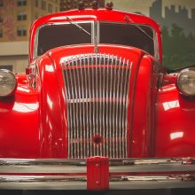 See rare and beautifully restored automotive at Bill Richardson Transport World