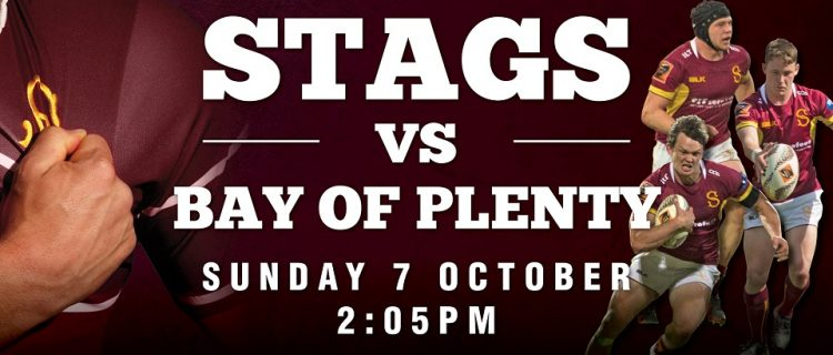 Stags -v- Bay of Plenty