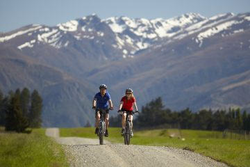 Cycle the Around the Mountains trails through Northern Southland