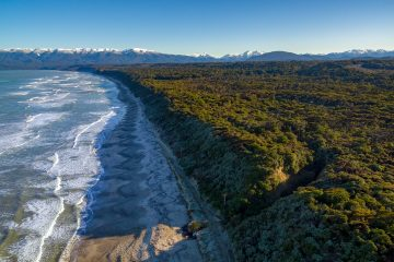 Beautiful remote beaches in Western Southland
