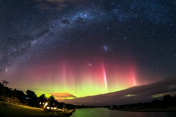 Southland is the best place to witness the Aurora Australis