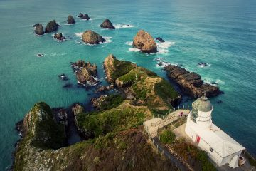 Nugget Point is a geological wonder on The Catlins coastline