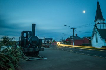 The long summer nights of Western Southland