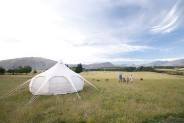 Luxury glamping is a great way to experience Northern Southland