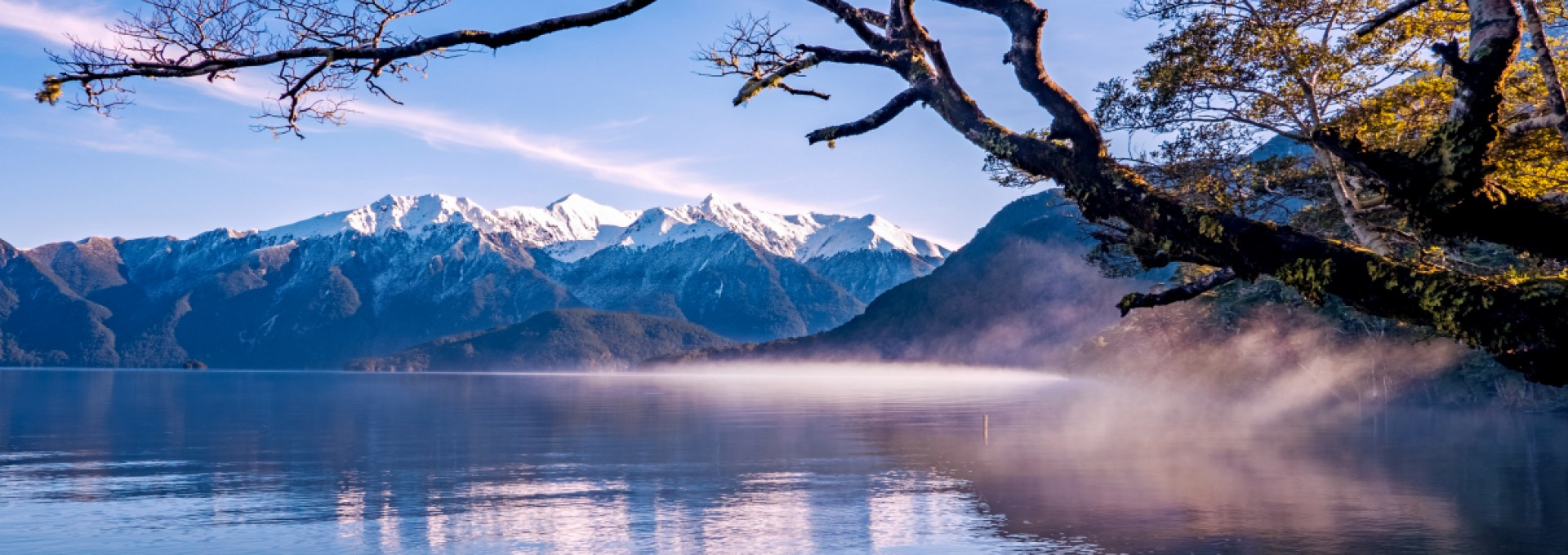 Lake Hauroko is the deepest lake in New Zealand