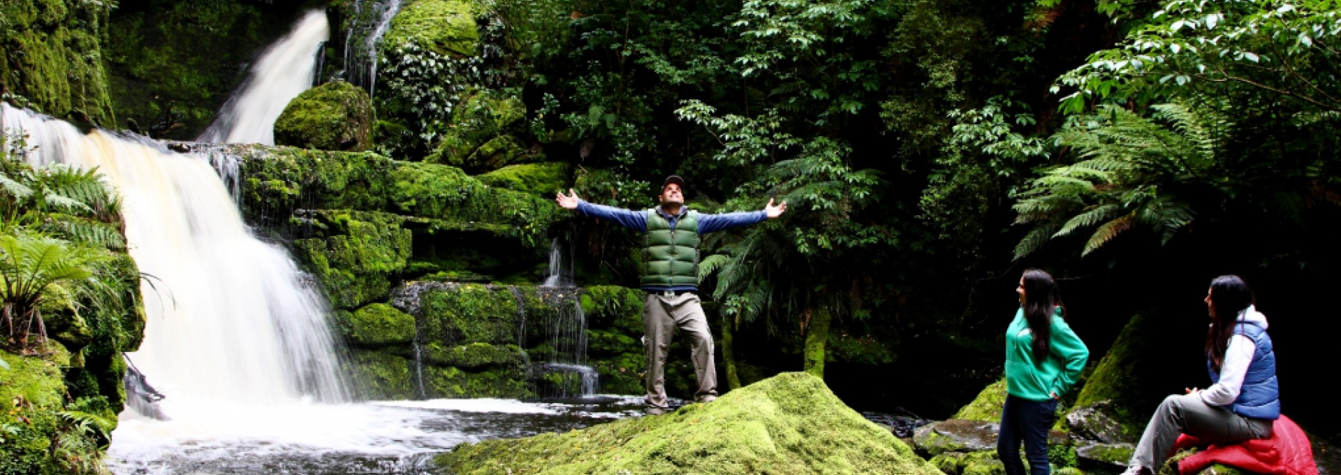 Discover amazing waterfalls on The Catlins coast in Southland