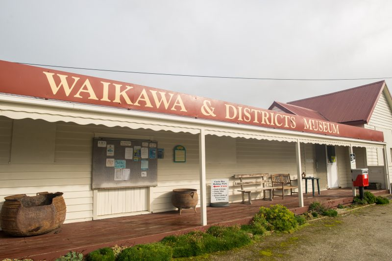 Waikawa Museum in The Catlins