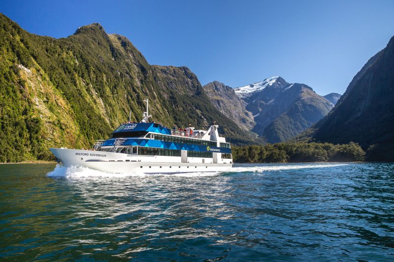 Real Journeys - Milford Sound Scenic Cruises