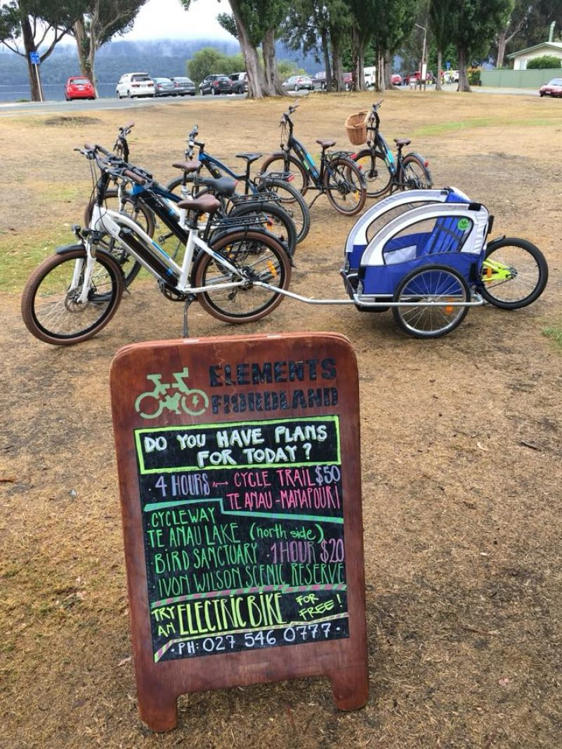 Elements E-Bikes Fiordland