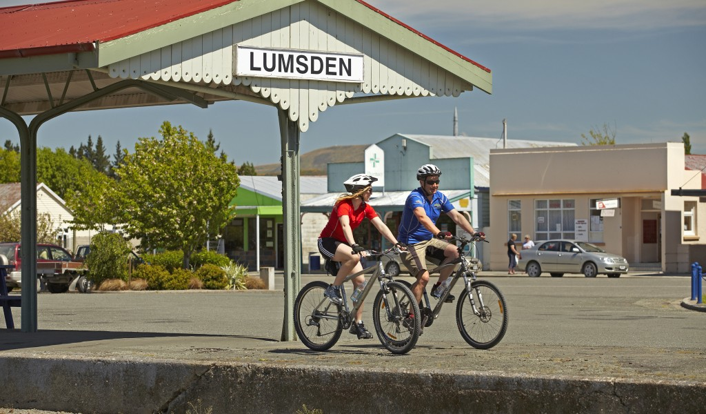 Ride the Around the Mountains Cycle Trail through Lumsden