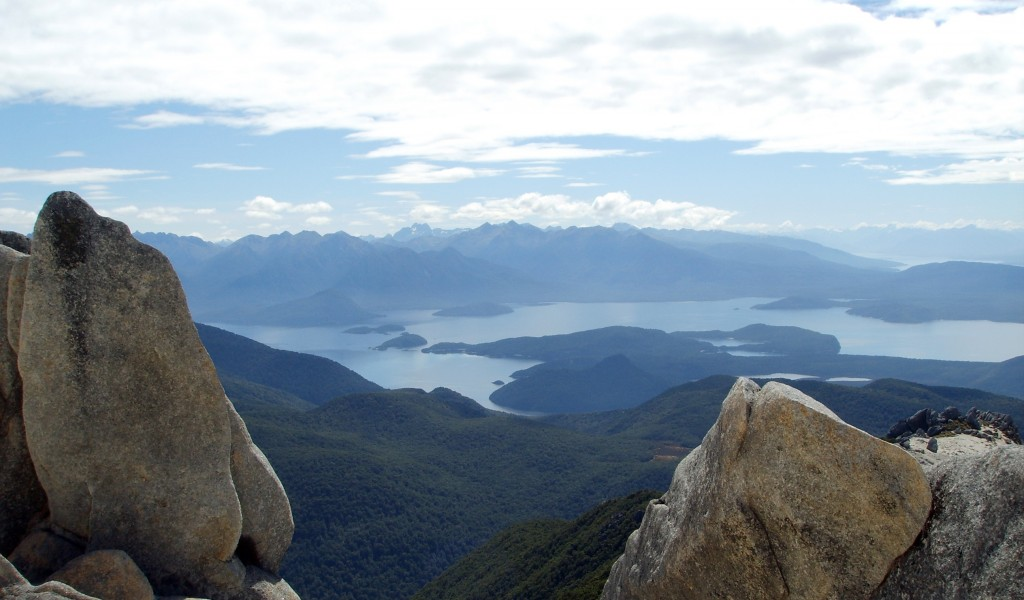 Lakes and Sounds in Fiordland
