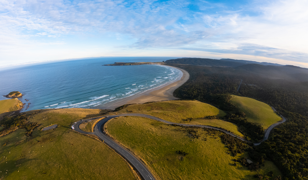 Florence Hill Lookout - The Catlins