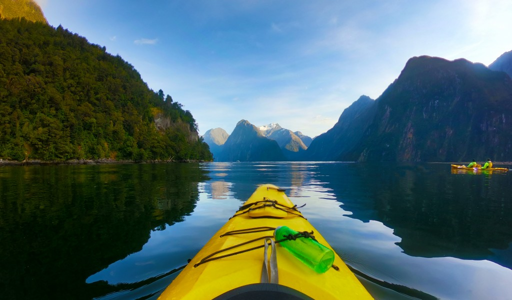 Milford Sound - Kayak