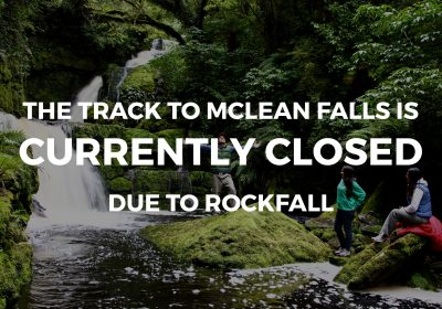 Closed - McLean Falls