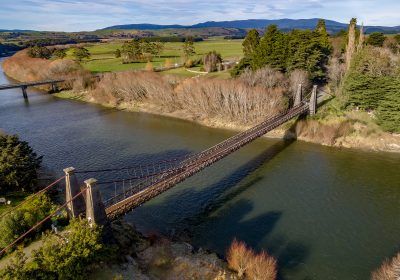 Visit the historic Clifden Suspension Bridge