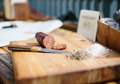 Try wild venison salami in Southland